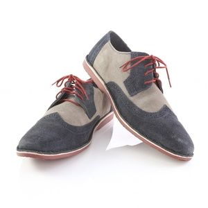 Clarks Lace-Up Derby Two Tone Casual Dress Shoes
